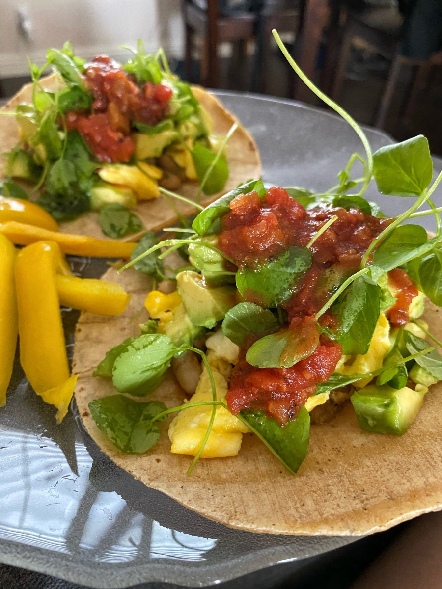 Low salt tacos for a heart healthy diet
