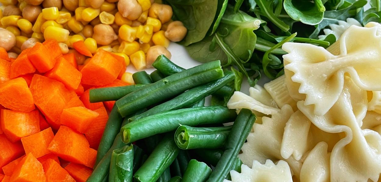 Easy heart healthy pasta salad