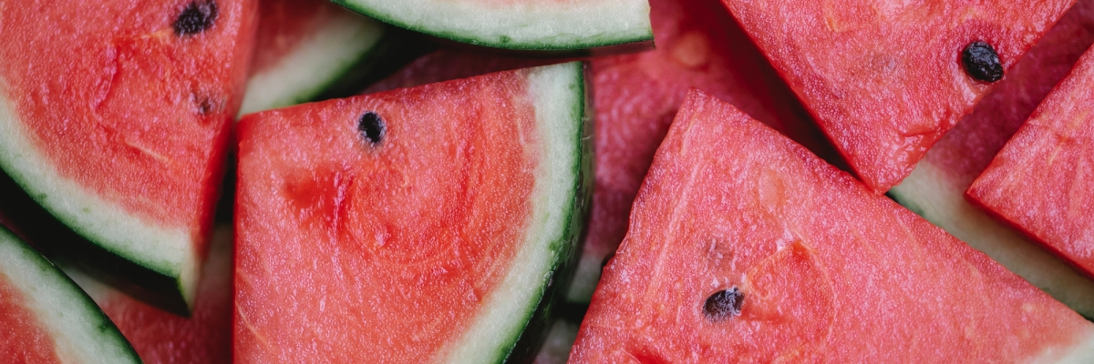 Watermelons are a heart healthy treat